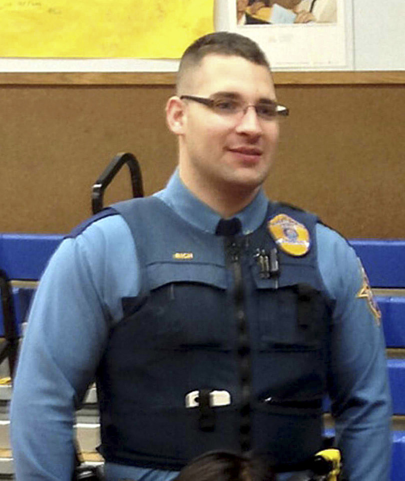 Photo - This undated photo released by the Department of Public Safety shows Alaska State Trooper Gabriel