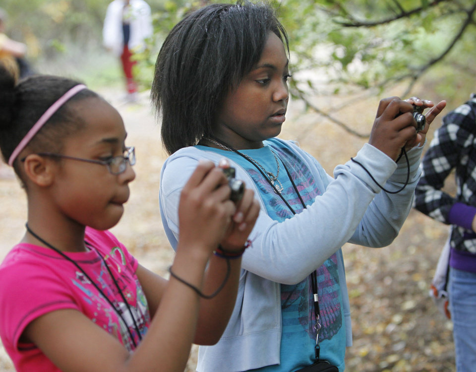 "The Boys and Girls Club is doing a new program called ""Parks in Focus"" to introduce 24 BGC youth to local parks through digital photography at the Stinchcomb Wildlife Refuge.  Photo By David McDaniel/The Oklahoman <strong>David McDaniel - The Oklahoman</strong>"