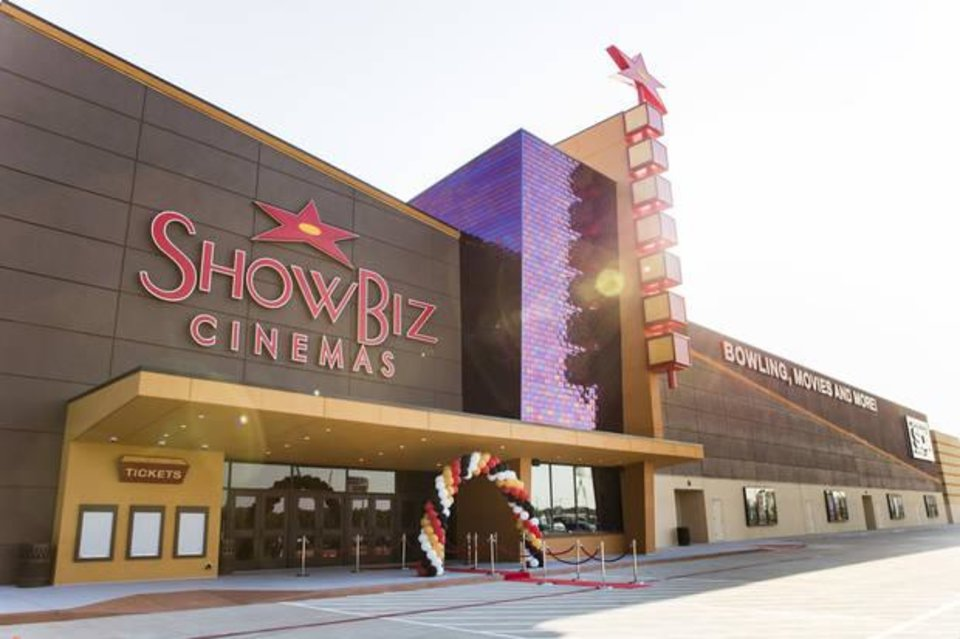 Photo - ShowBiz Cinemas, a family entertainment center with 18 bowling lanes, 12 movie theaters and an arcade, wants to come to Edmond on the northwest corner of Interstate 35 and Covell Road. Developers are asking for an incentive from the city of Edmond. [PHOTO PROVIDED]