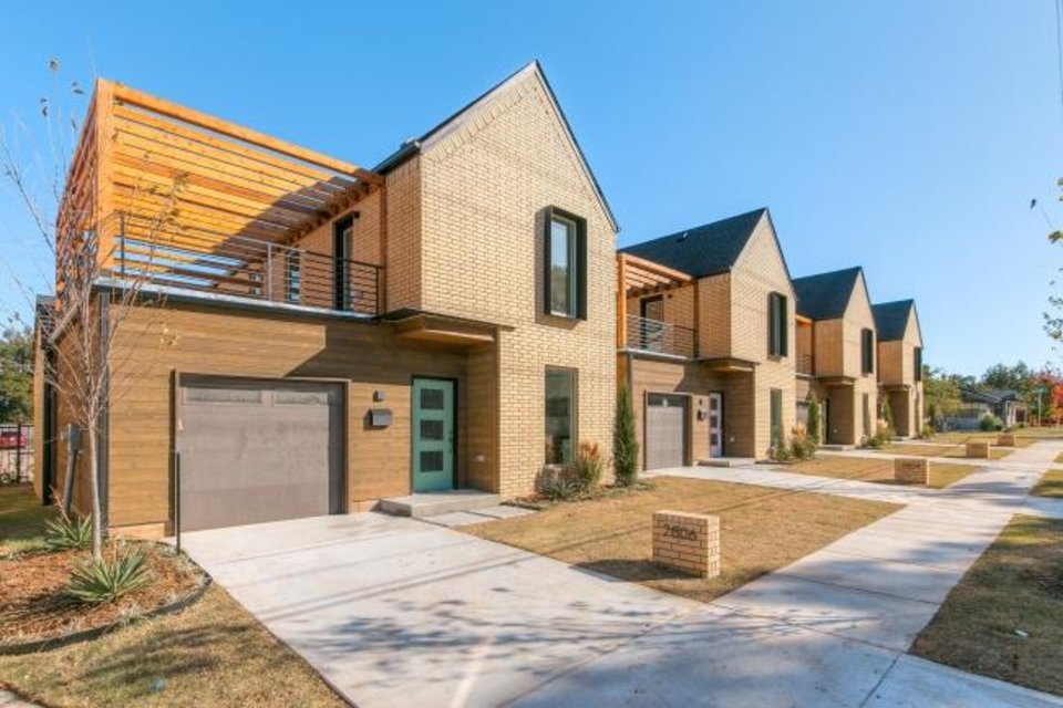 Photo -  McKinley Row is Omega Investments' first go at new construction a pocket of four homes on N McKinley Avenue north of NW 23. [SAGE SOTHEBY'S INTERNATIONAL REALTY]