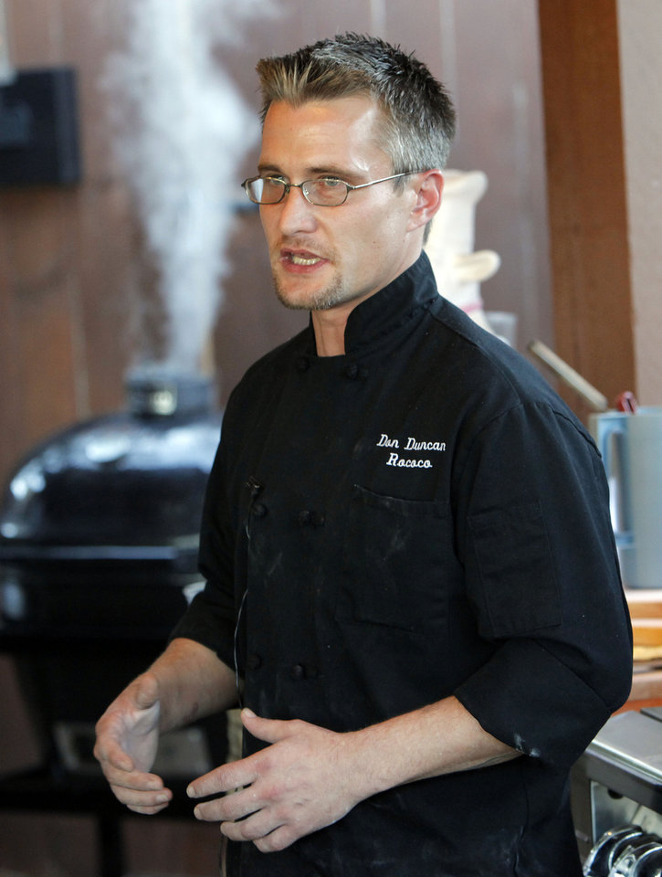 Photo - Chef Don Duncan is now behind the stove at Bin 73.  NATE BILLINGS - THE OKLAHOMAN