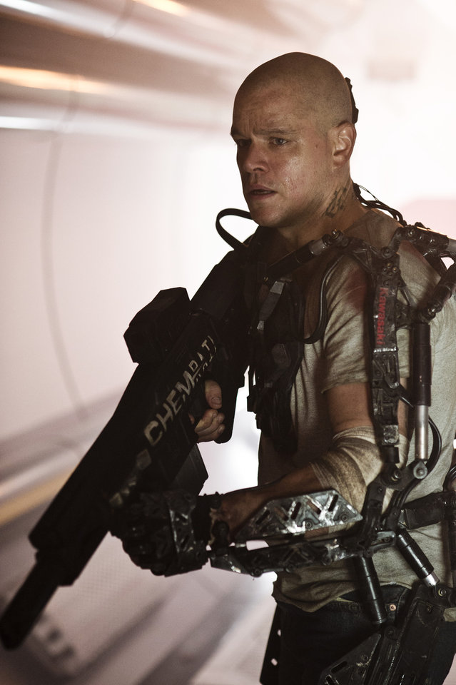 Photo - This publicity photo released by Columbia TriStar Marketing Group, shows Matt Damon starring in Columbia Pictures'