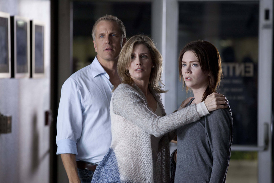 "From left, Patrick Fabian, Helen Slater and Camille Cregan star as �Scott�, �Cheryl� and �Jillian� in ""The Good Mother,"" airing at 7 p.m. Saturday, June 8, on Lifetime. - Photo by Adam James Copyright 2011"