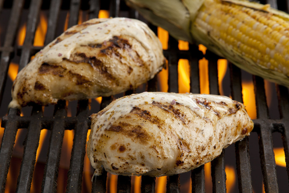 Few things make the heart gladder than a grill topped with local ingredients. - PROVIDED