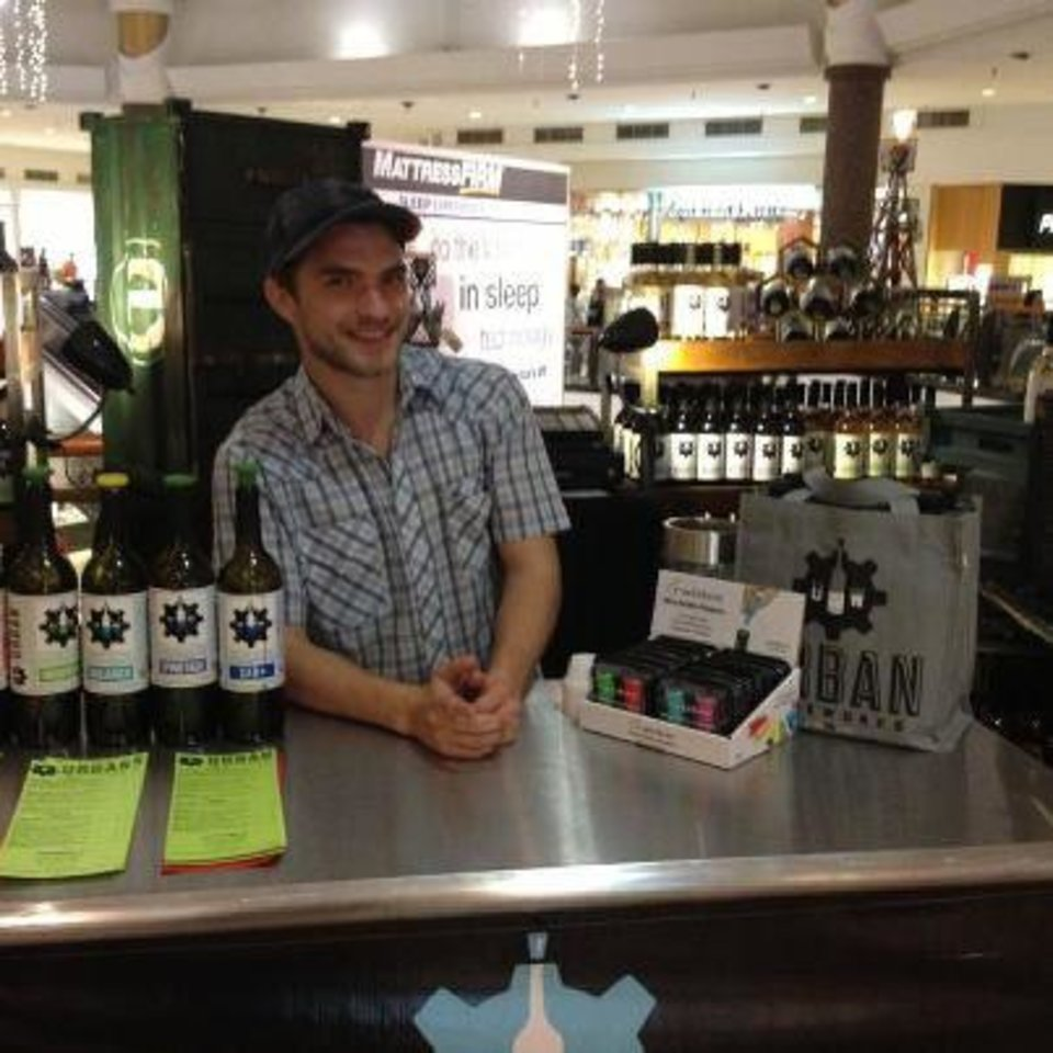 Urban Wineworks\' holiday kiosk at Penn Square Mall was closed after the ABLE Commission sent a letter urging them to shut it down. Photo provided