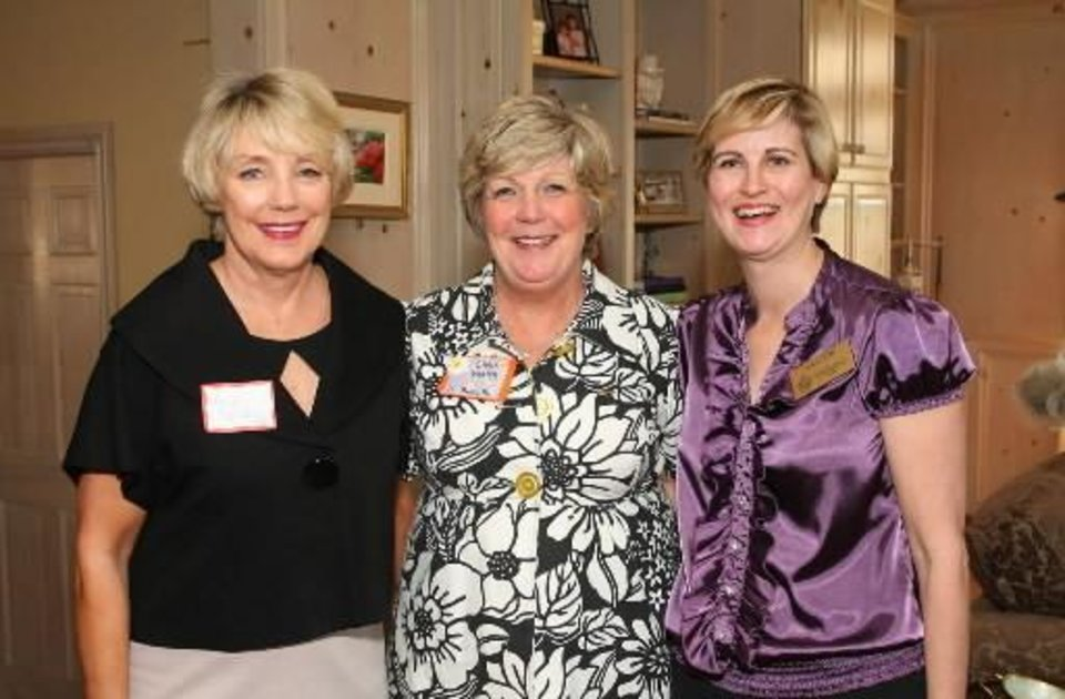 Left: Mary Reneau, Chris Verity, Millonn Lilly. PHOTO BY DAVID FAYTINGER, FOR THE OKLAHOMAN