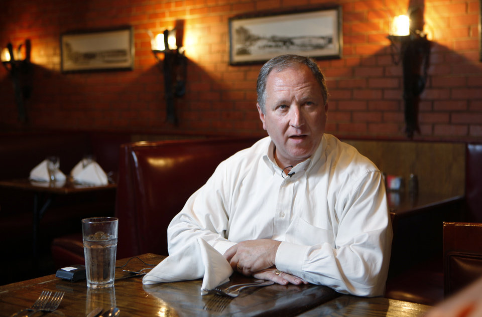 RESTAURANT: David Egan at Cattlemen's Steakhouse in Oklahoma CIty, Wednesday, August 3, 2011. Photo by Bryan Terry, The Oklahoman  ORG XMIT: KOD