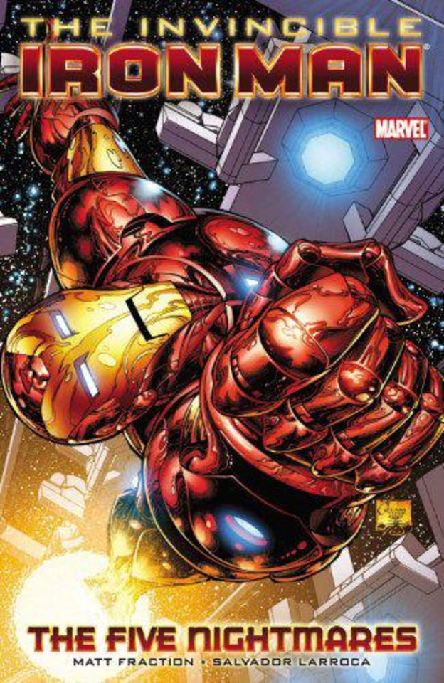 """Iron Man: The Five Nightmares.""  Marvel Comics. <strong></strong>"