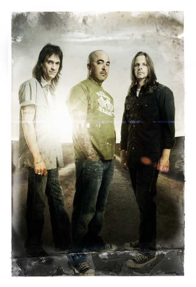 Photo -  Staind returns to Rocklahoma after playing the 2011 edition. PHOTO PROVIDED