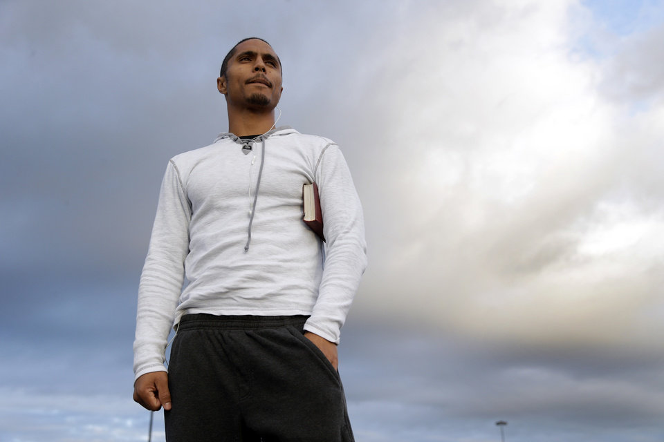 Photo - Bryan Maneafaiga poses for a portrait  in Richmond, Calif., Friday, Dec. 14, 2012. With uneven testing for steroids and inconsistent punishment, college football players are packing on significant weight _ in some cases, 30 pounds or more in a single year _ without drawing much attention from their schools or the NCAA in a sport that earns tens of billions of dollars for teams. But looking solely at the most significant weight gainers also ignores players like Maneafaiga. In the summer of 2004, Maneafaiga was an undersized 180-pound running back trying to make the University of Hawaii football team. Twice, once in pre-season and once in the fall, he failed school drug tests, showing up positive for marijuana use. What surprised him was that the same tests turned up negative for steroids. He'd started injecting stanozolol, a steroid, in the summer to help bulk up to a roster weight of 200 pounds. (AP Photo/Marcio Jose Sanchez)