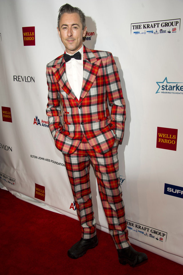 Photo -   Alan Cumming attends Elton John's AIDS Foundation's 11th annual Enduring Vision benefit on Monday, Oct. 15, 2012 in New York. (Photo by Charles Sykes/Invision/AP)