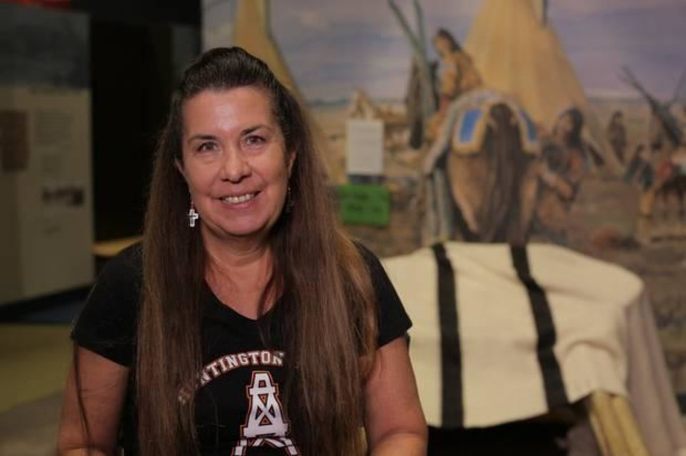 Photo - Valerie Red-Horse, a producer and director of Cherokee ancestry, is the owner and founder of Red-Horse Native Productions and is working on