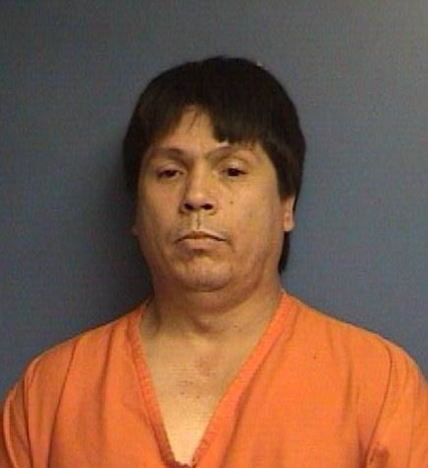 Photo - DRUG BUST, METHAMPHETAMINE RAID / ARREST: Michael Thrash, 43, of Anadarko, arrested on drug charges      ORG XMIT: 0907142220405119