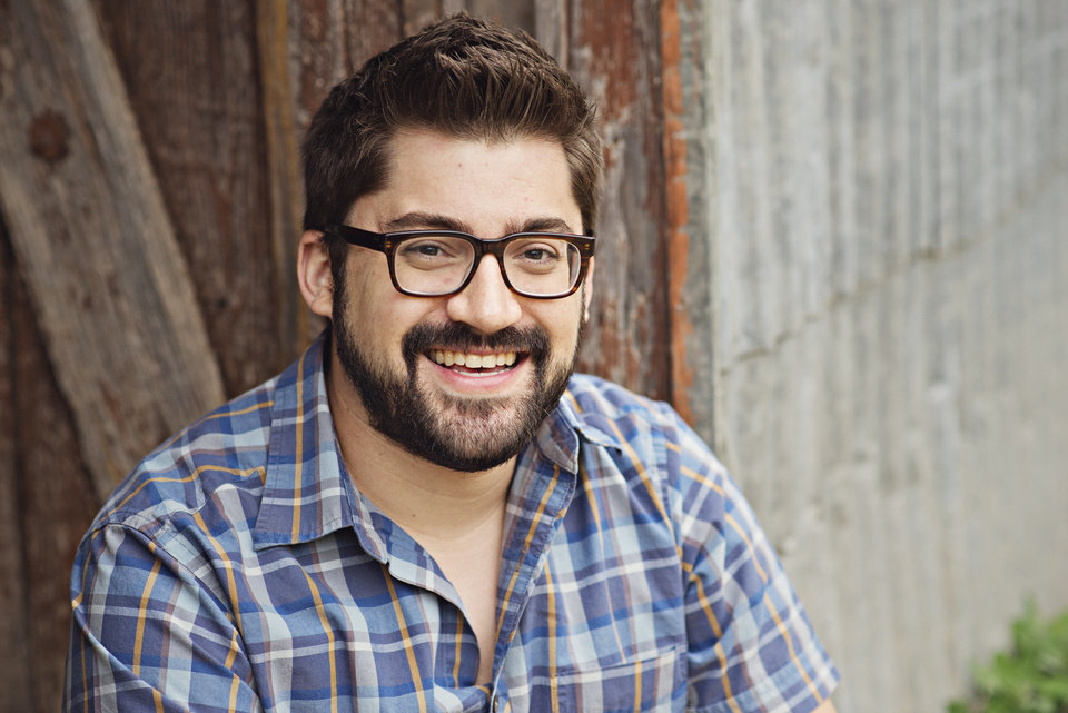 Austin Kleon, author, poet and creativity expert.      <strong> Provided  - Provided</strong>