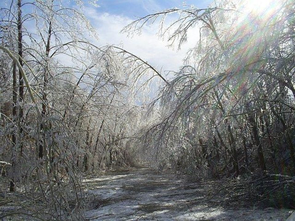 This is of my grandparent's, Kate & Darm Koehne, road in Jay, OK.<br/><b>Community Photo By:</b> Lonnie Stover<br/><b>Submitted By:</b> Kelly, Midwest City