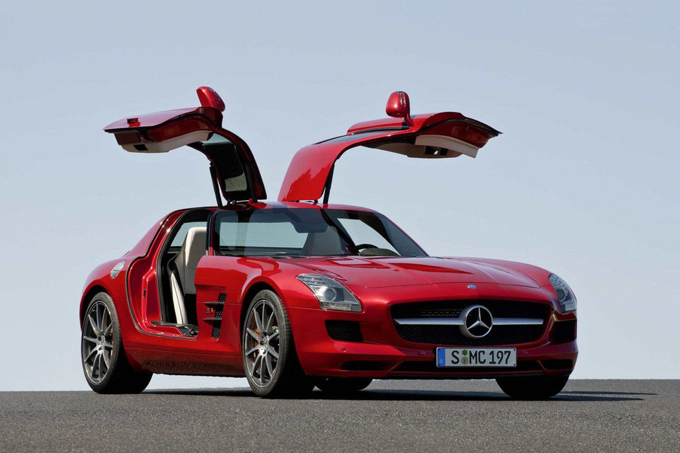 A Mercedes-Benz SLS AMG Gullwing will be on display at this year�s Oklahoma City International Auto Show. <strong></strong>