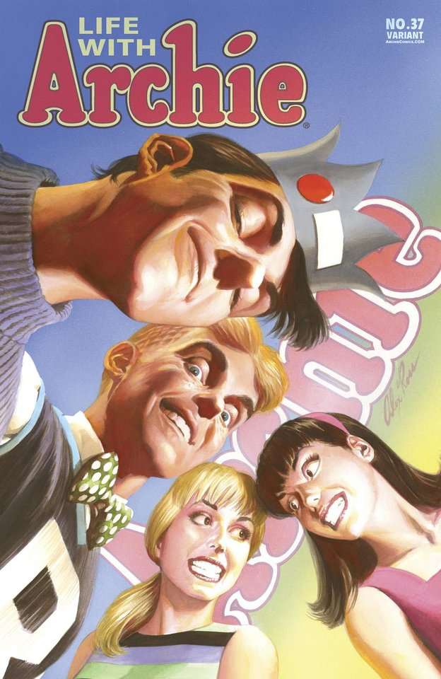 "Photo -  A variant cover to ""Life With Archie"" No. 37."