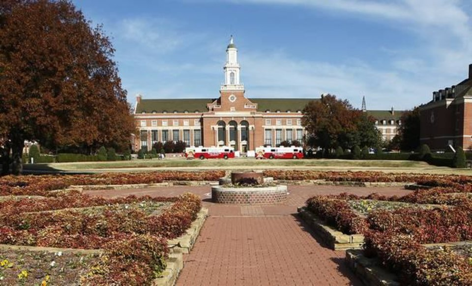 Photo - File photo of the OSU campus in Stillwater with the library in the background by David McDaniel, The Oklahoman