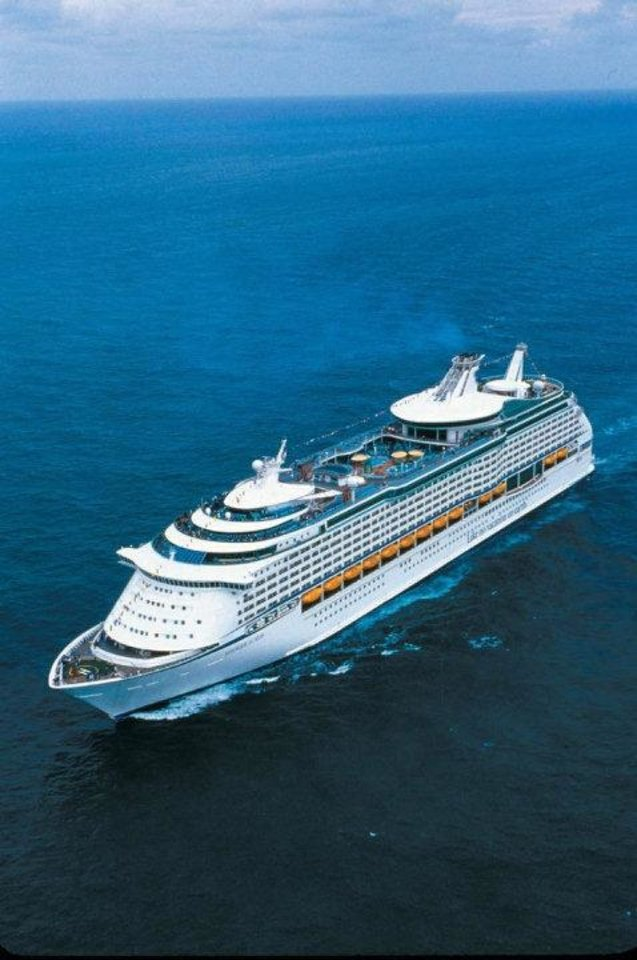 Photo - The Voyager of the Seas continues on the Adriatic Sea through this year and then will go to China next year. PHOTO PROVIDED.