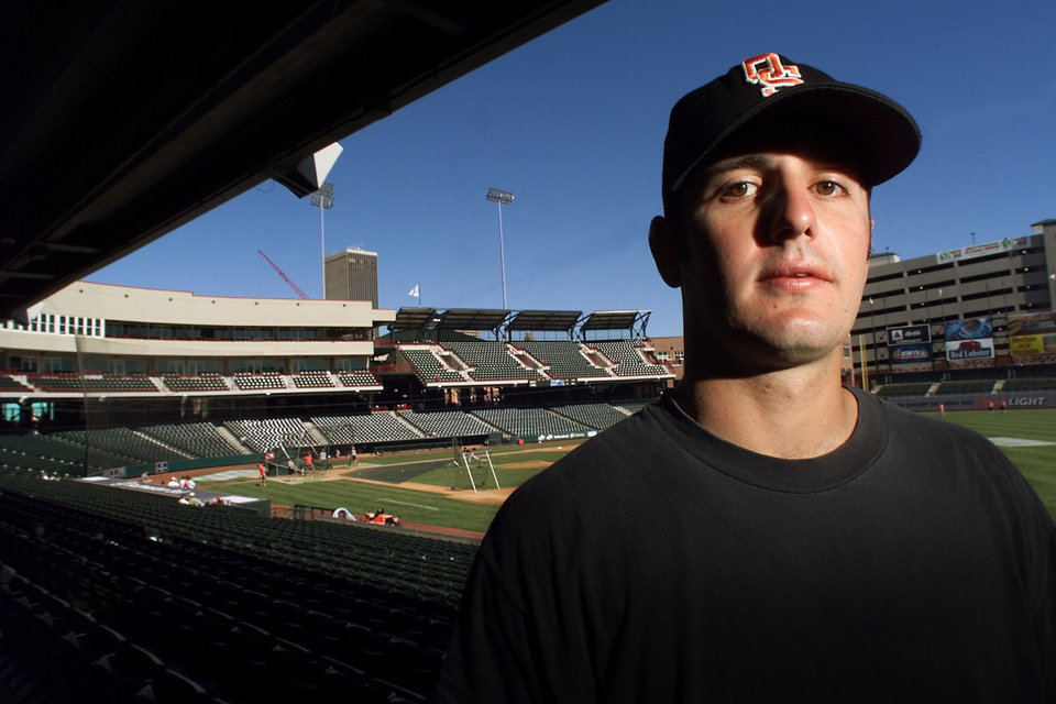 Former OSU baseball player Josh Holiday is pictured in 1999. OKLAHOMAN ARCHIVE PHOTO <strong>DOUG HOKE</strong>