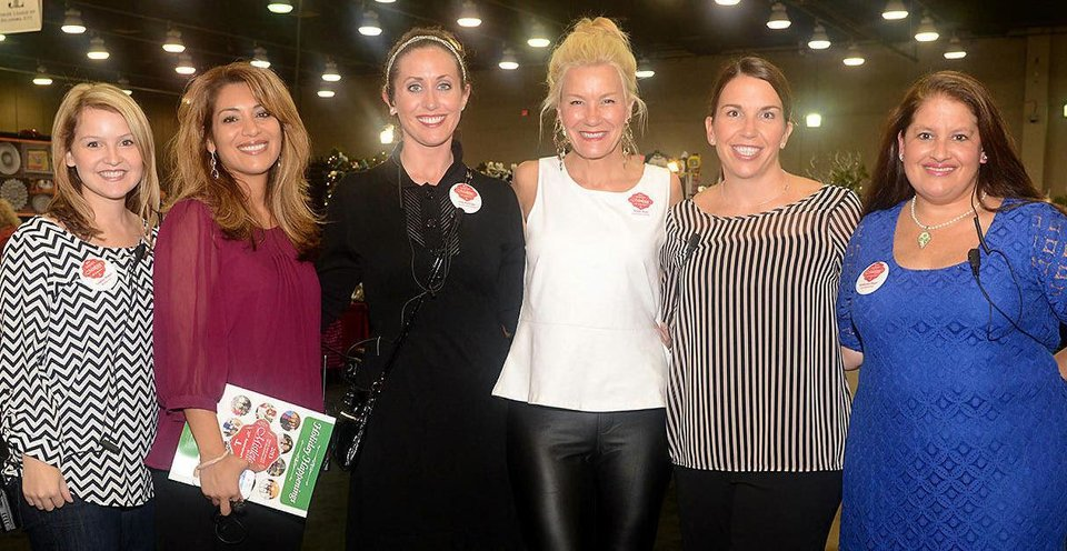 Photo - Lindsay Riddel, Jeanette Stanton, Erin Hadwiger, Jeanie Butts, Kelly Brown, Katherine Hager. Photo by David Faytinger, for The Oklahoman