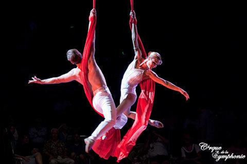 A scene from Cirque de la Symphonie   Photo by Michael Zirkle <strong>Michael Zirkle</strong>