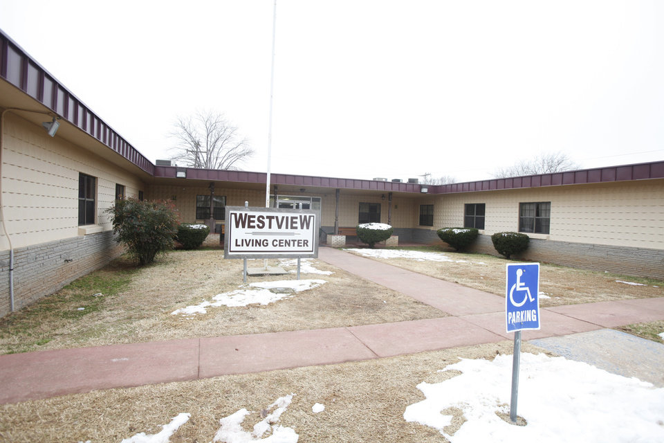 Westview Living Center in Guthrie, Oklahoma February 03, 2010. This is facility where a torture death ocurred in 2002. Photo by Steve Gooch, The Oklahoman