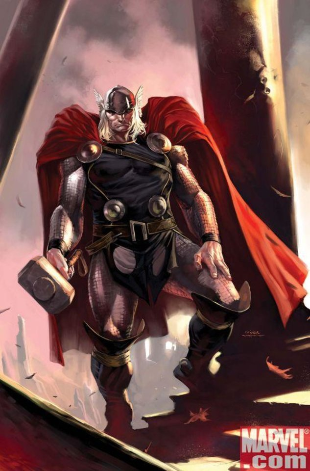 "Photo - ""Thor,"" which has been set in Oklahoma since its 2007 relaunch, was nominated for best ongoing series in the 2009 Eisner Award nominations.  Marvel Comics  ORG XMIT: 0904091558020922"