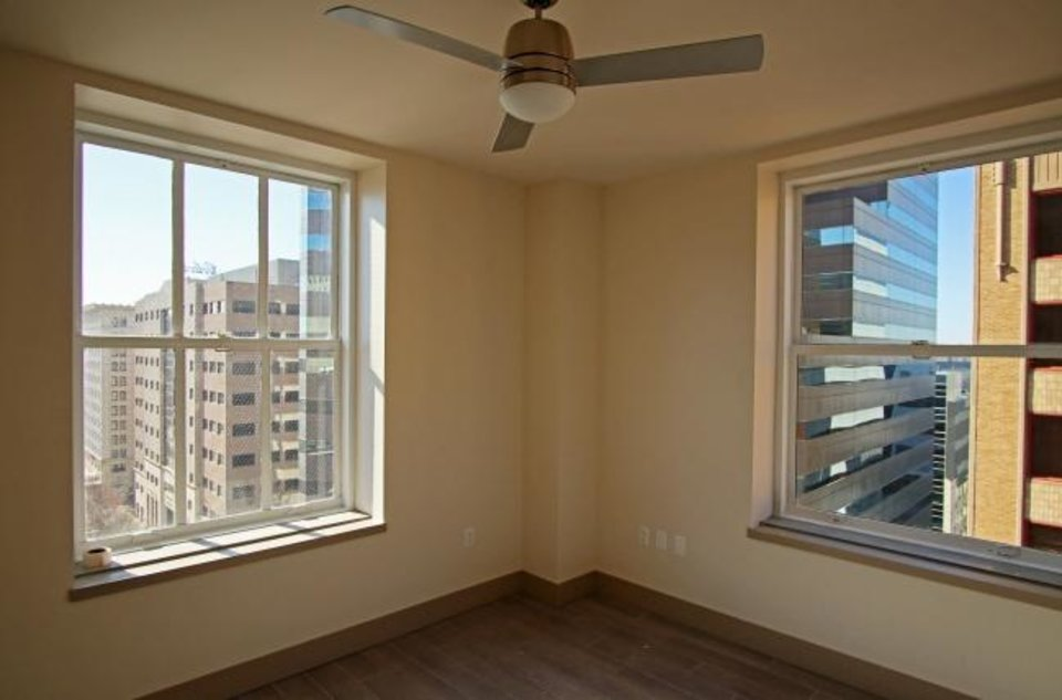 Photo -  Apartments at First National Center feature generous views of the downtown skyline. [DOUG HOKE/THE OKLAHOMAN]