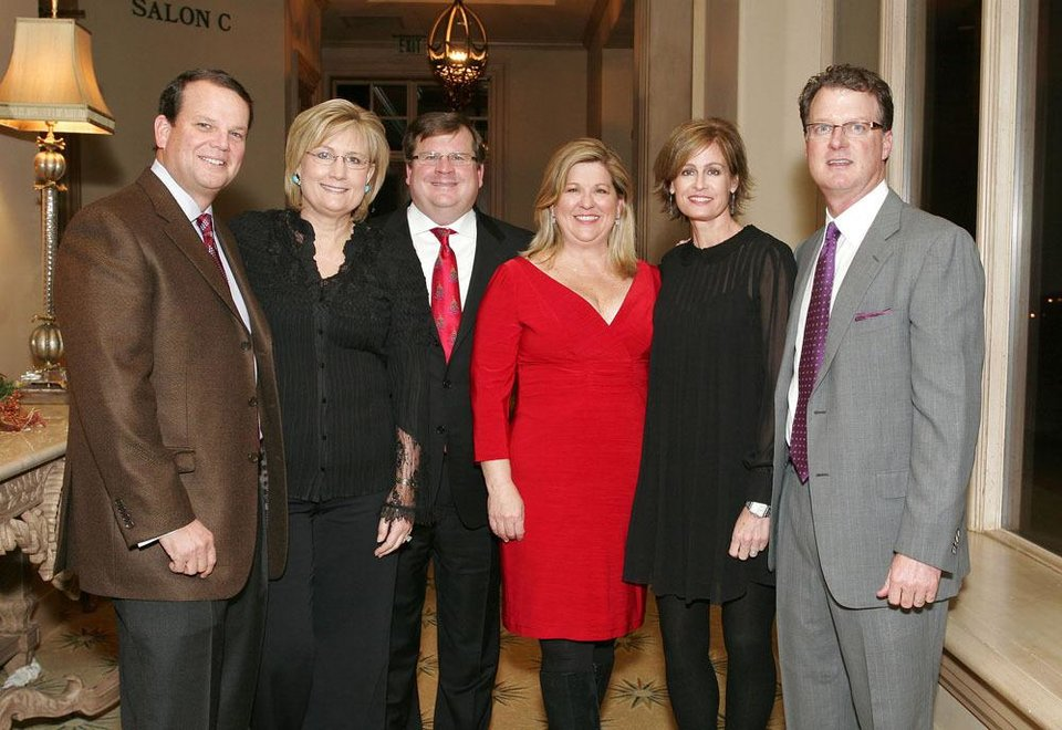 Bob and Mary Kay Samis, Ramsey and Susan Drake, Dana and Chris Gordon.     PHOTO BY DAVID FAYTINGER, FOR THE OKLAHOMAN