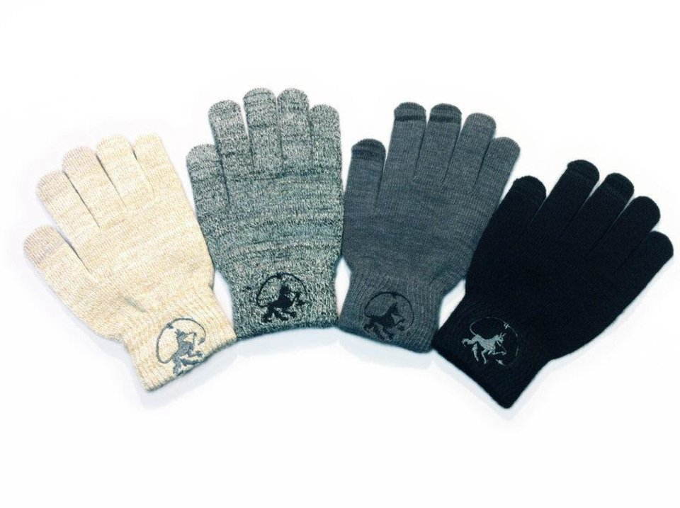 Photo - Conductive fingertips in these WEARCOM Touchscreen Gloves let you operate the screen of your device while you're still wearing them. PHOTO PROVIDED.