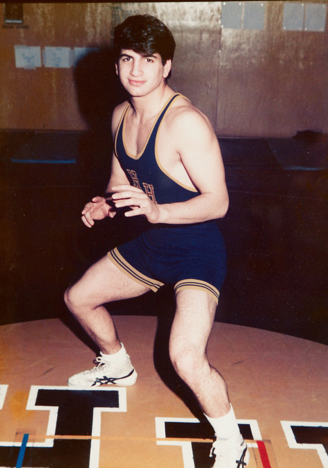 Photo - DEATH: Anthony Shadid was a wrestler at Heritage Hall High School. Shadid,  a foreign correspondent  for the New York Times, who died after suffering a severe asthma attack in Syria on Feb. 16.  Photo by Jim Beckel, The Oklahoman