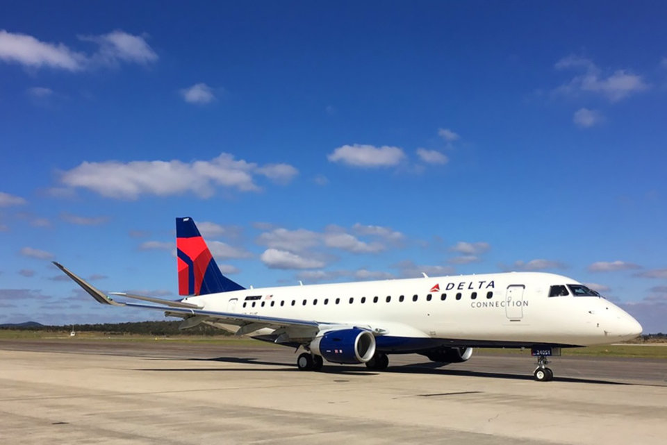 Photo -  SkyWest offers regional feeder flights for other airlines, such as Delta. [Photo provided by SkyWest]