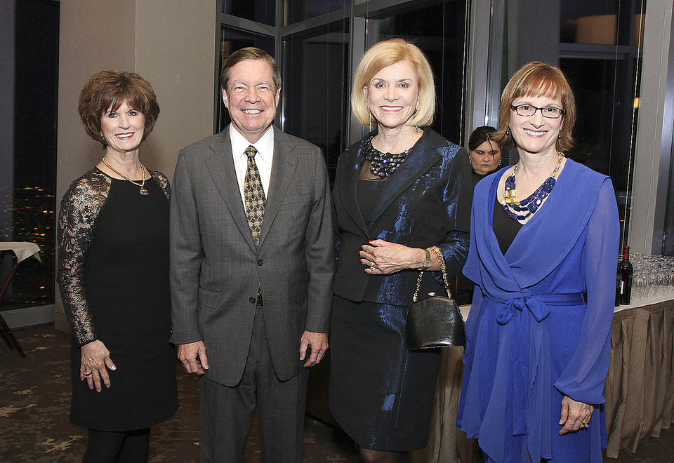Barbara Brou, Larry Nichols, Judy Love, Sherry Rhodes. PHOTOs BY DAVID FAYTINGER, FOR THE OKLAHOMAN