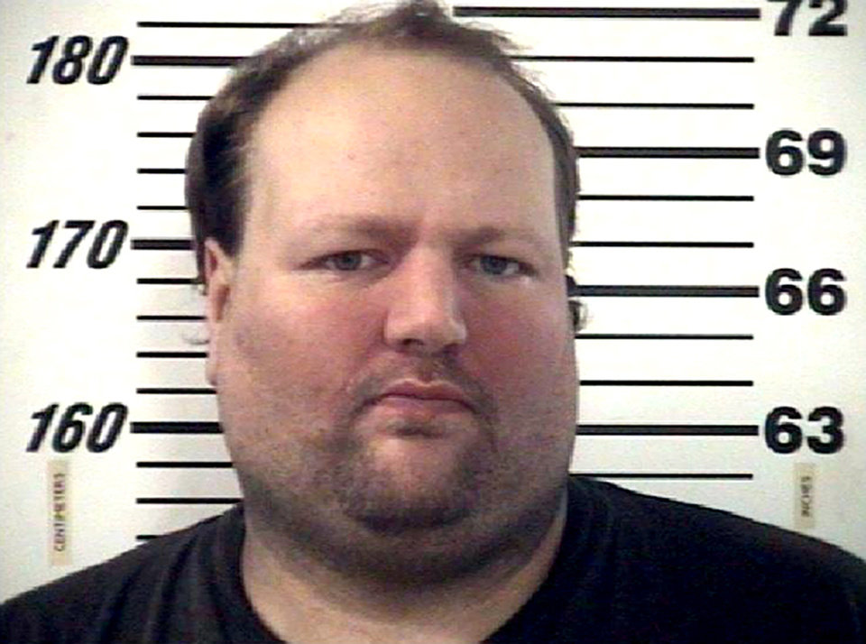 This December 2012 handout photo provided by the Effingham County Sheriff\'s Office shows Chad Moretz. A SWAT team sniper shot 34-year-old Moretz on Jan. 11, 2013, ending a four-hour standoff when Moretz emerged from his Effingham County home armed with an assault rifle. (AP Photo/Courtesy of the Effingham County Sheriff\'s Office)