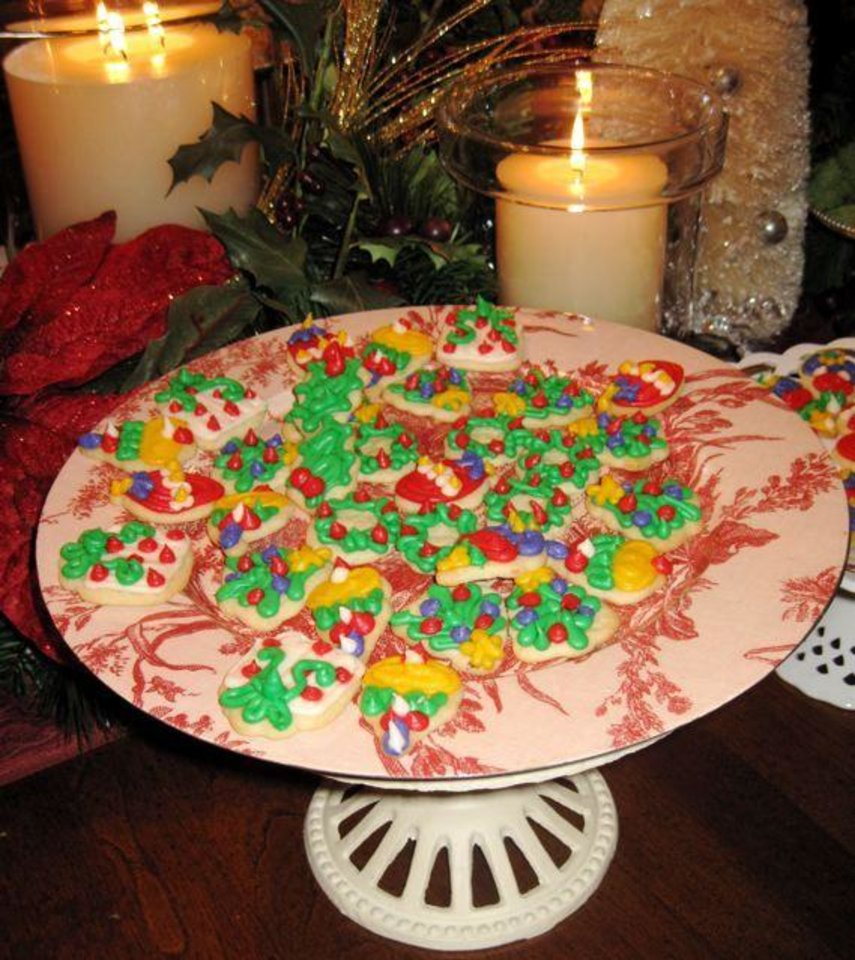 CELEBRATING THE BOOK...Holiday cookies. (Photo by Helen Ford Wallace).