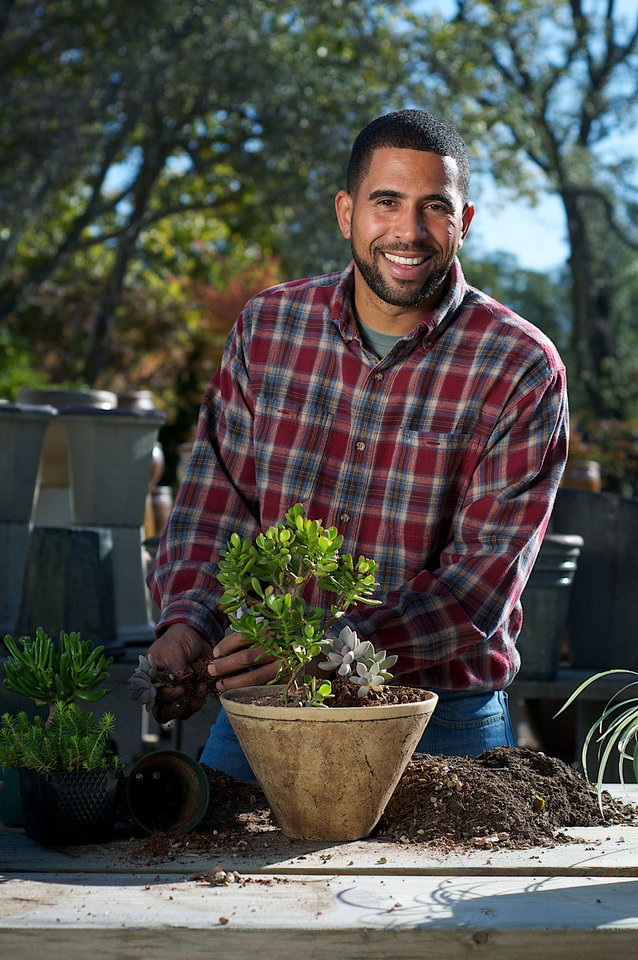 "Ahmed Hassan, host of HGTV & DIY Network's ""Yard Crashers,"" will share landscape expertise and give advice about going green, gardening on a budget and how to increase home value with landscaping at the Oklahoma City Home & Garden Show. <strong> - PROVIDED BY AHMED HASSAN</strong>"