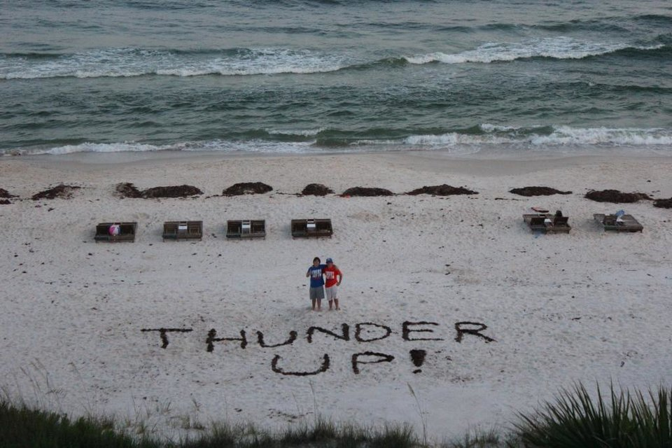Every day we\'re Thunderin\'!