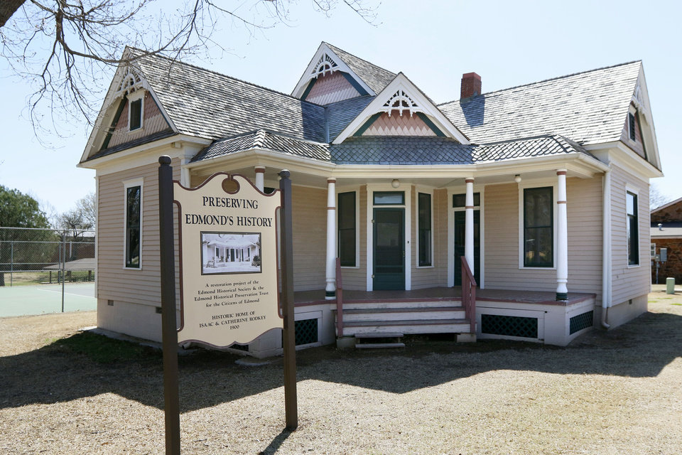Proposal offered to renovate edmond 39 s rodkey house news ok for Early 1900s house plans