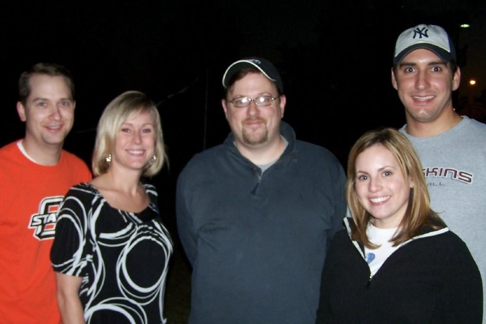 Mitchell Clark, Tricia Bauer, Mike Koehler, Heather Busey and Philip Busey Jr. - PHOTO PROVIDED