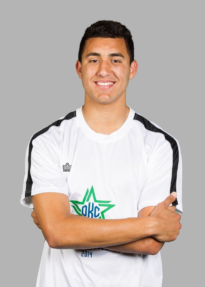 Photo - Tarek Morad, Oklahoma City Energy FC. PHOTO BY STEVEN CHRISTY, FOR OKLAHOMA CITY ENERGY FC