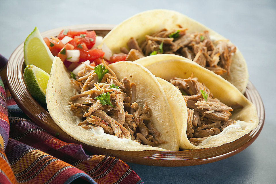 This Made in Oklahoma recipe for Carnitas combines Hispanic flavors with barbecue. - PROVIDED