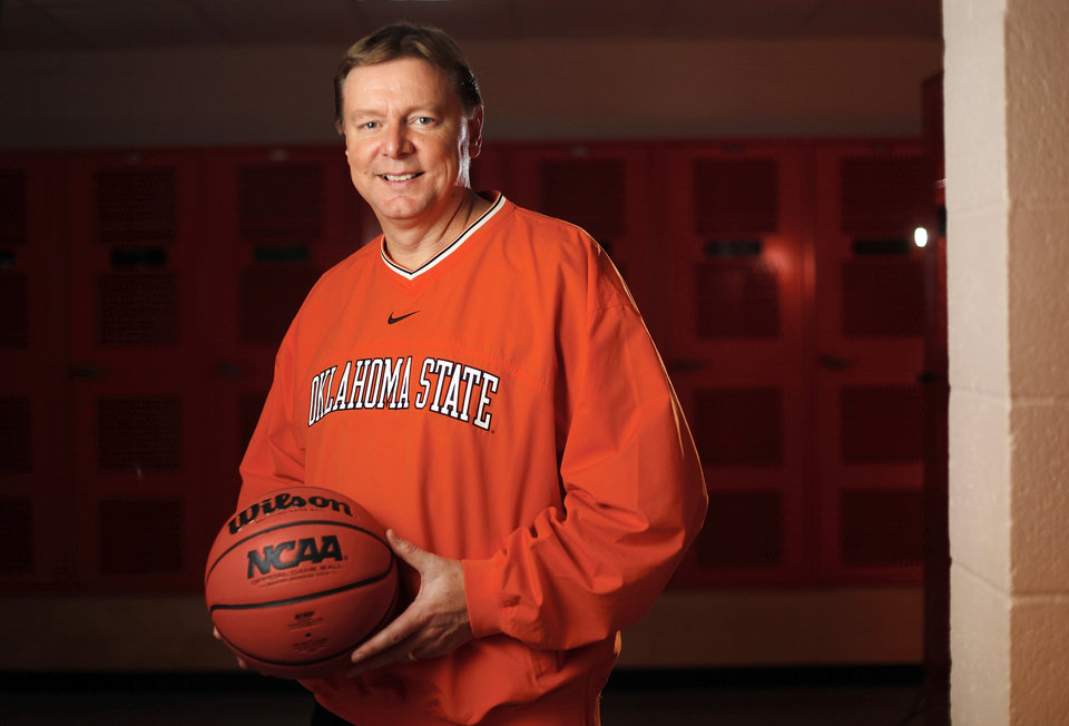 OSU women's college basketball coach Kurt Budke died in a November plane crash.  Photo by Nate Billings, The Oklahoman