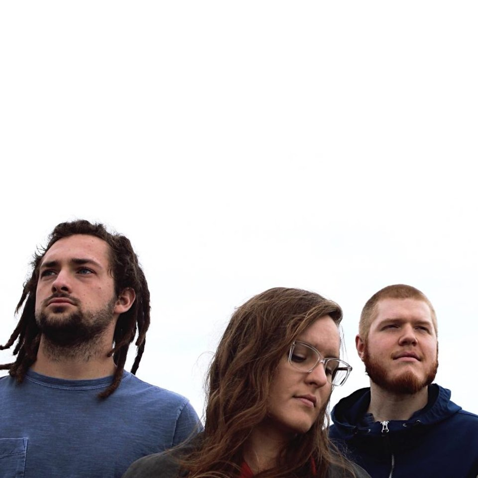 Photo -  From left, Endless Forms is Justin Allen, Jessica Lee and Joe Moore. The Tulsa trio produced, recorded, mixed, and mastered its sophomore album,