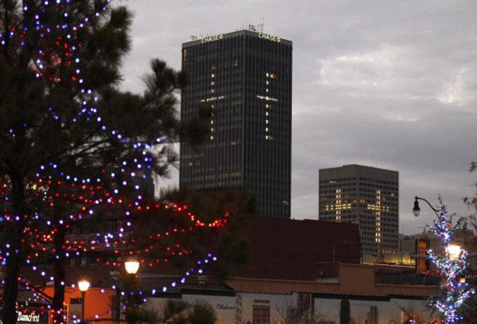 How downtown Oklahoma City rediscovered its Christmas ... Onemain Financial