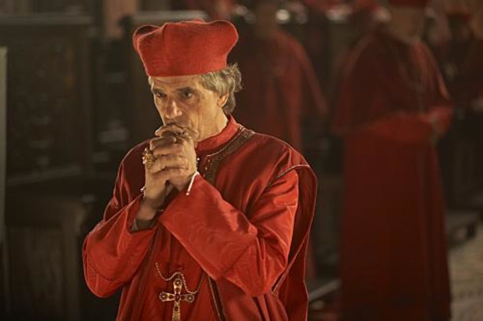 Jeremy Irons as Rodrigo Borgia in The Borgias (Episode 1) - Photo: Jonathan Hession/SHOWTIME- Photo ID: TheBorgias_101_0774