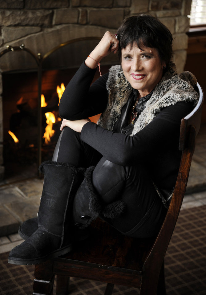 Photo - FILE - In this Wed., Jan. 22, 2014 file photo, Eve Ensler, co-director of the short film