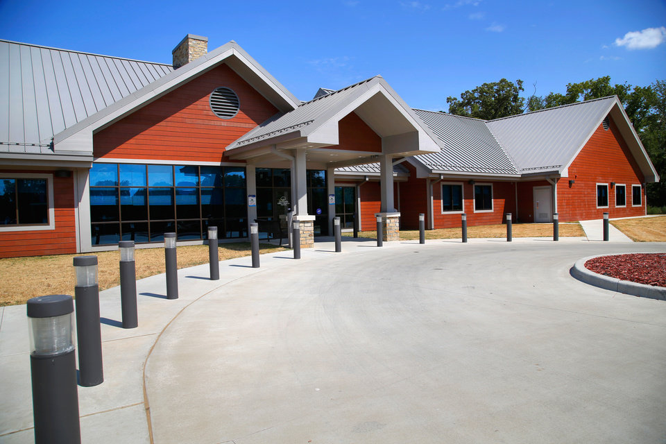 Photo -  The new Pushmataha Family Medical Center in Clayton. [Photo by Jim Beckel, The Oklahoman]