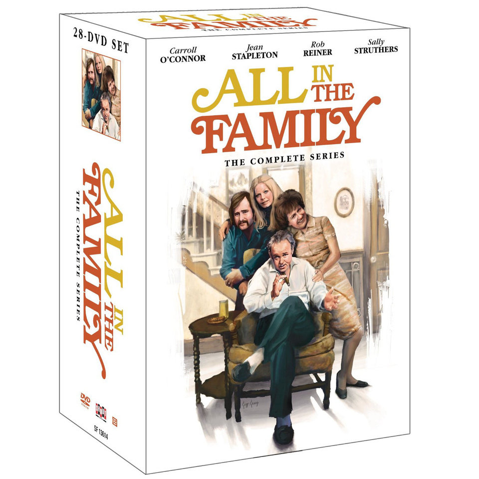 """All in the Family: The Complete Series,"" a 28-DVD box set containing the entire series, plus a 1979 three-part retrospective."