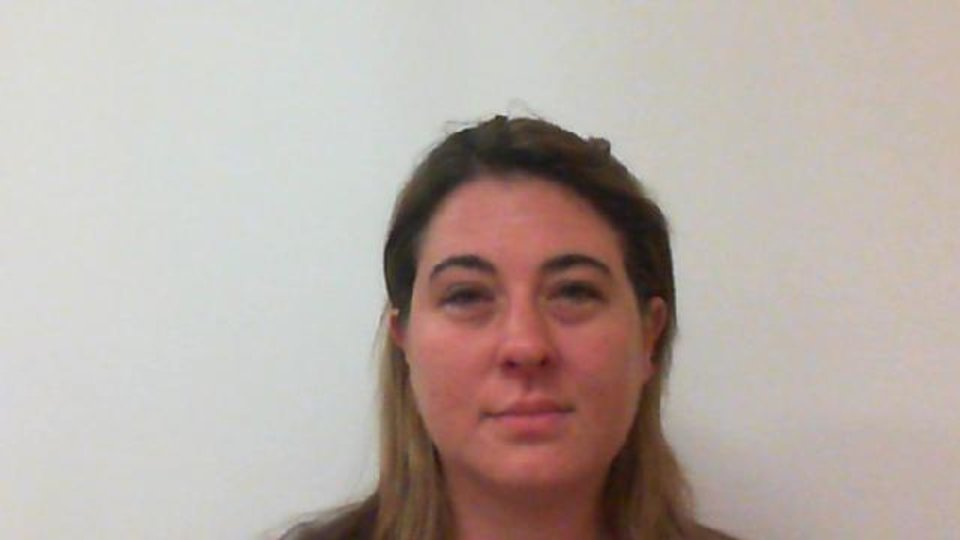 Photo - Former teacher Laura Cowan is shown in a booking photo after her July 23 arrest on suspicion of 2nd degree rape. She is accused of having inappropriate sexual contact with her students.  Photo provided